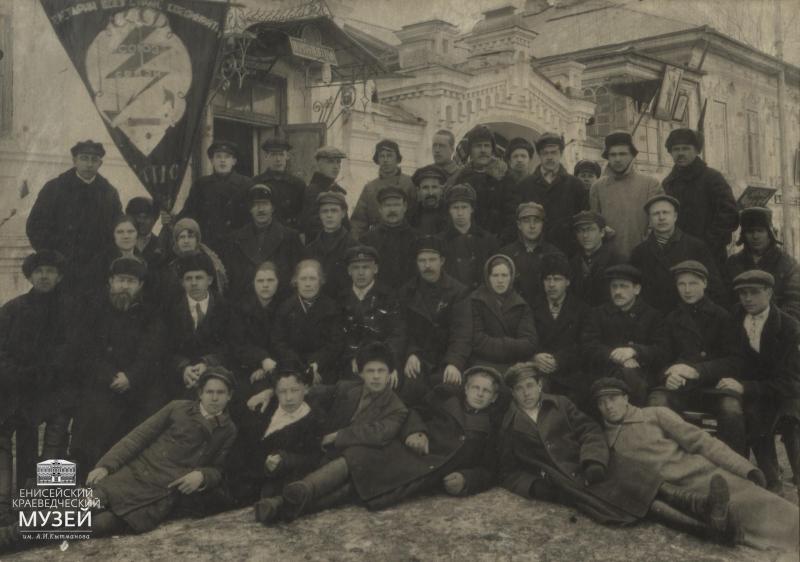 Работники-Енисейской-конторы-связи.-Фото-нач.1930-х-гг.